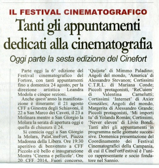 Italian News Article mentioning C.T.R.L