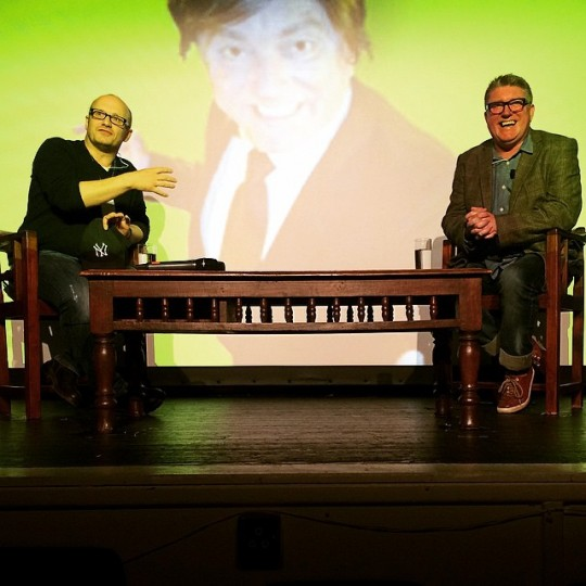 Lenny Abrahamson in conversation with Pat Shortt.