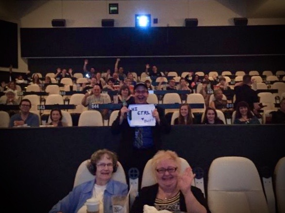 The audience at BWiFF says hello